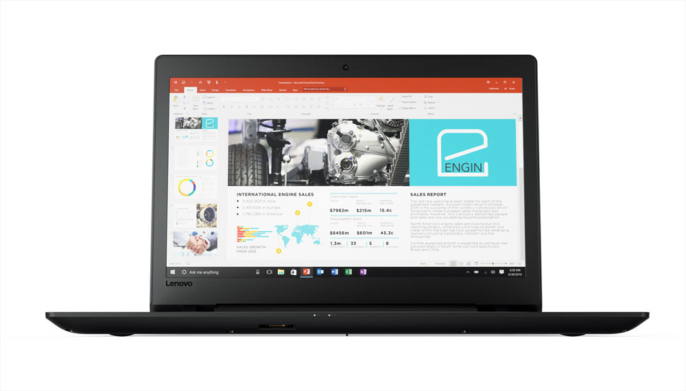 "Lenovo V110-17IKB i7-7500U/4GB/128GB SSD/DVD-RW/HD Graphics 620/17,3""HD+ matný/W10"