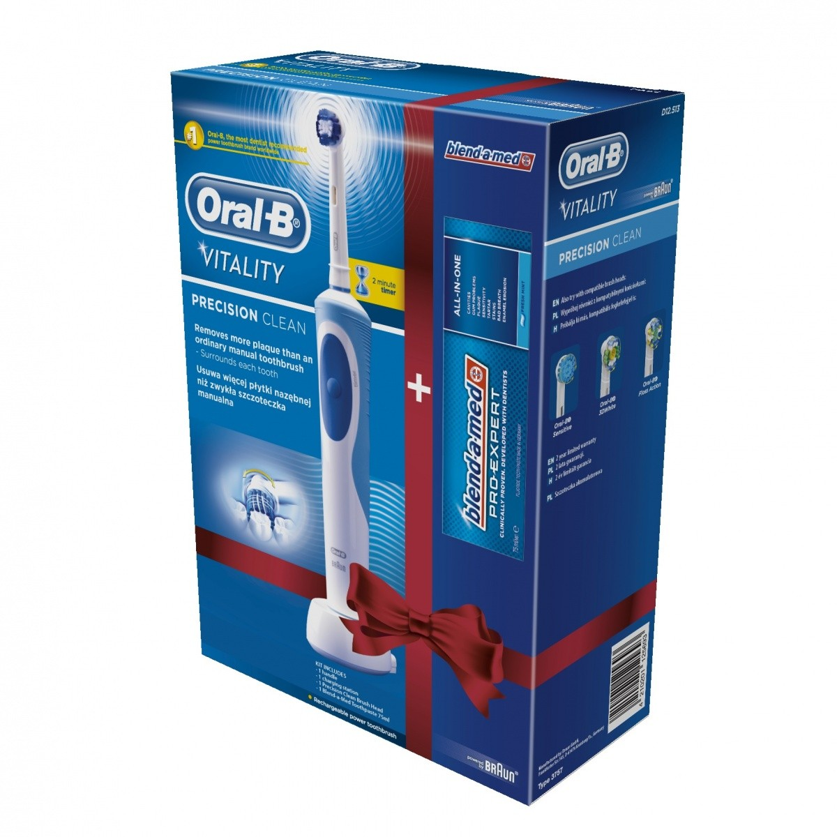 Zubní kartáček Oral-B D12 Precision Clean