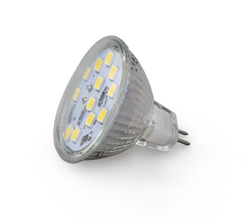 Esperanza ELL107 LED žárovka - MR16 12LEDS / 5 W / lm 480 Led type 5050 CRI>80