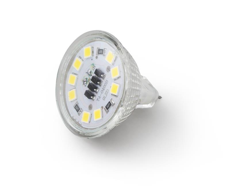 Esperanza ELL106 LED žárovka - MR16 8LEDS / 4 W / 12V/ lm 380 Led type 5050 CRI>