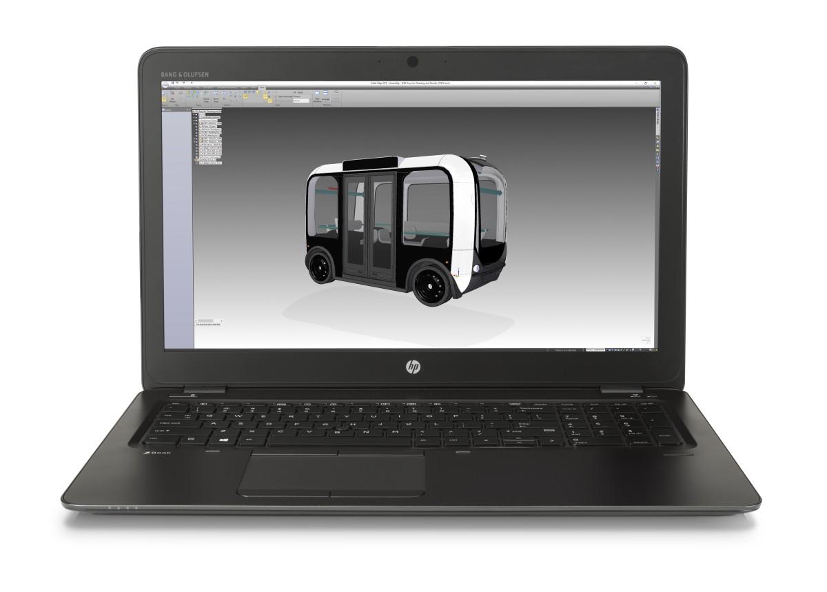 HP ZBook 15u G4 i7-7500U / 1x 16GB DDR4 / 512GB SSD Turbo Drive G2 / 15,6'' FHD / AMD Firepro W4190 2GB / Win 10 Pro