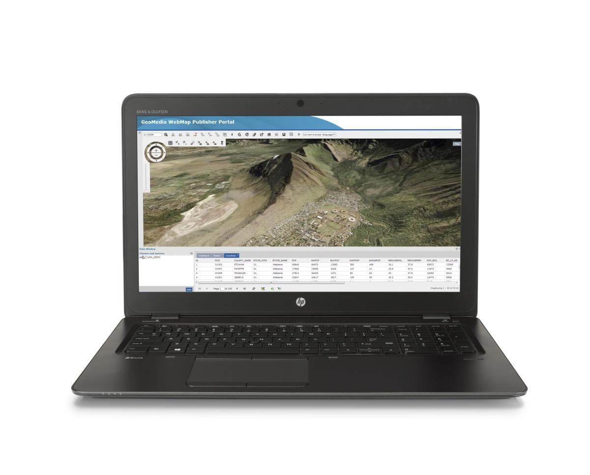 HP ZBook 15u G3 FHD/i7-6500U/16GB/256GB/ATI/VGA/DP/RJ45/WFI/BT/MCR/FPR/3RServis/W10P