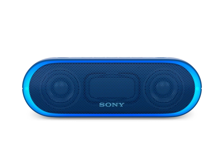 SONY SRS-XB20L Přenosný bezdrátový reproduktor s technologií Bluetooth, Blue