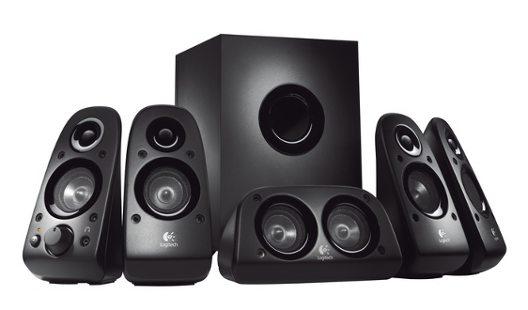 repro Logitech Z506, 75W RMS, 5.1 zvukový systém