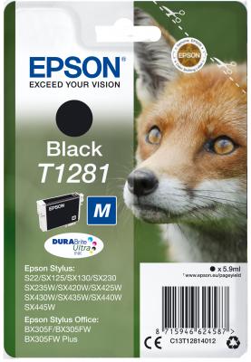 EPSON cartridge T1281 black (liška)