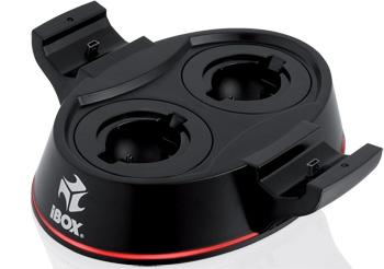 I-BOX K06 dvojitá nabíječka pro PS3 ovaldače (2xPS MOVE, 2xSIXAXIS/DUALSHOCK)
