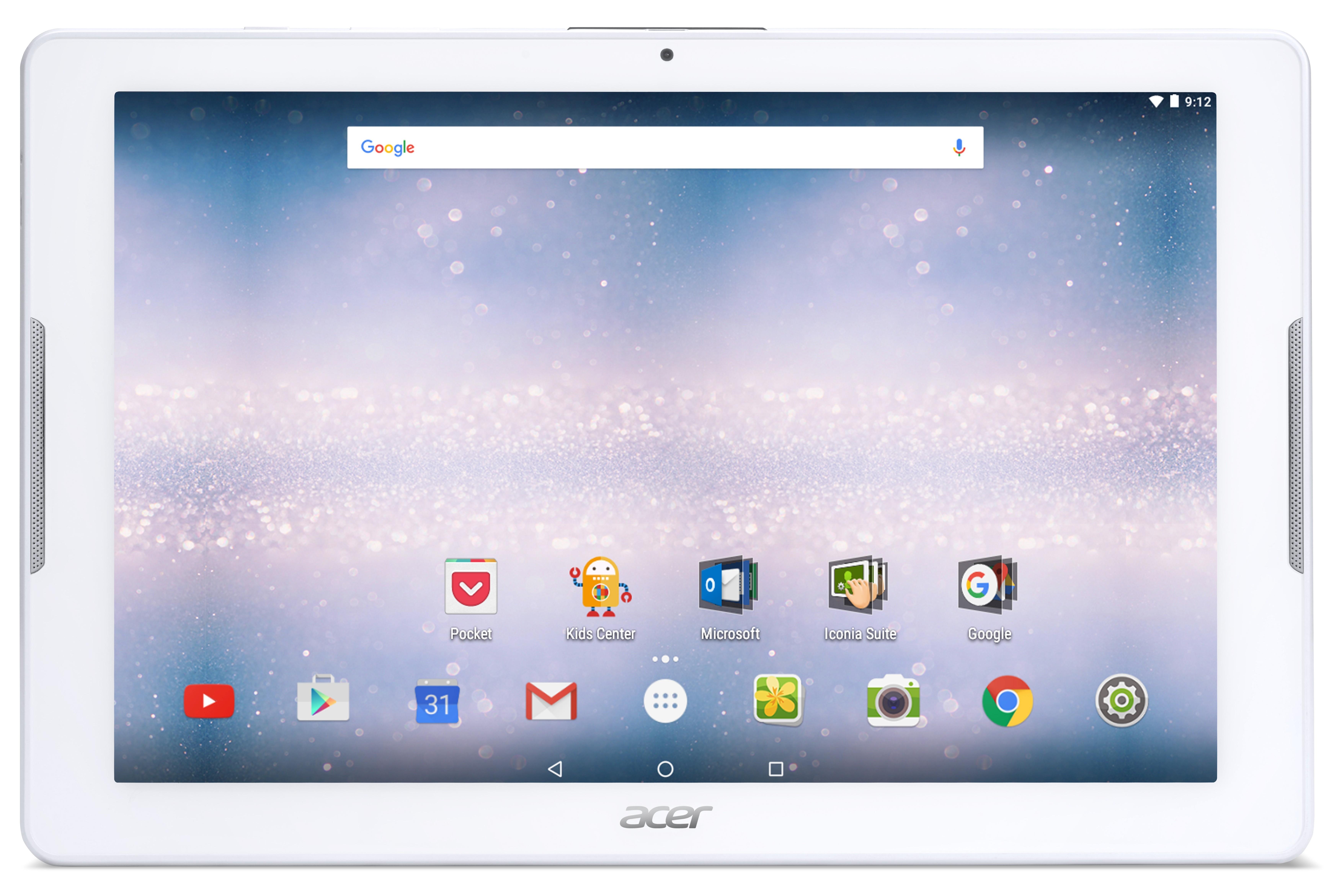 Acer Iconia One 10/MT8163/16GB/2G/IPS HD/A6.0 bílý