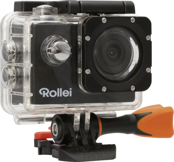 Rollei Action Cam 330 - FULL HD video 1080/30 fps/ 170°/ 30m pzd./ Černá