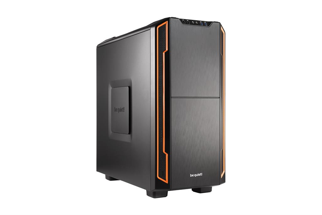 be quiet! Silent Base 600, orange, ATX, micro-ATX, mini-ITX case