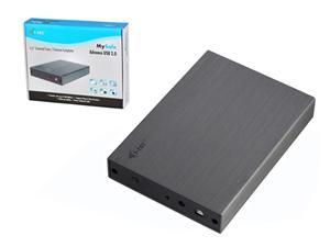 """i-Tec MySafe Advance externí case pro 3,5"""" SATA, USB2.0 - bez HDD"""