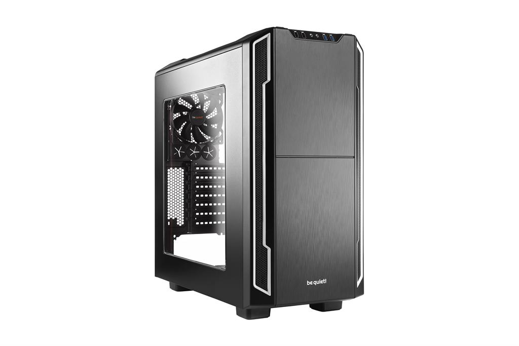 be quiet! Silent Base 600 window, silver, ATX, micro-ATX, mini-ITX case
