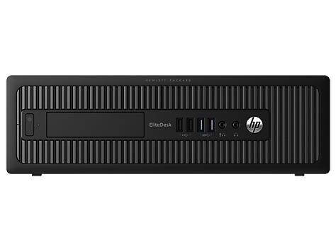HP EliteDesk 800 G2 SFF i5-6500/4GB/500GB/DVD/3NBD/W10 Pro + Win 7 Pro