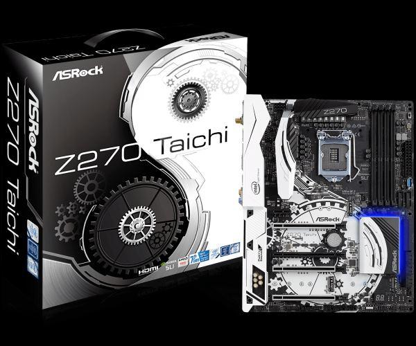 ASRock Z270 Taichi, INTEL Z270 Series,ATX, LGA1151,4 DDR4,4xM.2(3 for SSD,1W-FI)