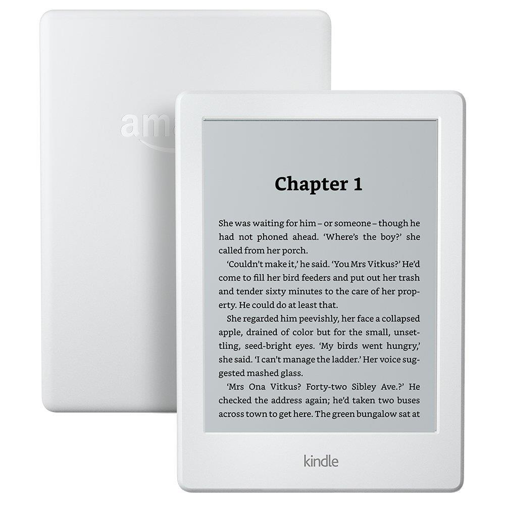 Amazon Kindle E-Reader 6'' Glare-Free WiFi, white