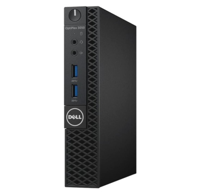 Dell PC Optiplex 3050U Micro i3-7100T/4G/128GB SSD/WiFi/DP/HDMI/W10P/3RNBD/Černý (123PF)