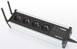 NETIO 4 modul vzdáleně ovládaných zásuvek, 4x 230V/8A