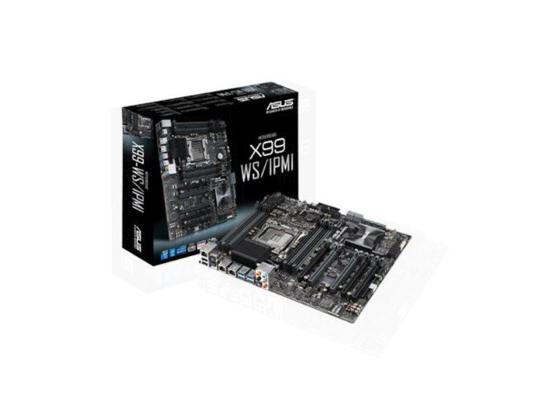 ASUS X99-WS/IPMI, 2011, X99, 8x DDR4, 5 x PCIe 3.0/2.0 x16, 1 x M.2 Socket 3, ATX