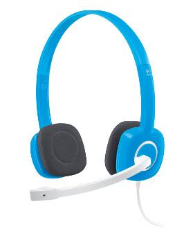 Logitech Stereo Headset H150 Blueberry, stereo, 3,5 mm