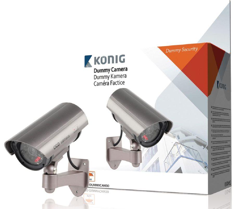 König atrapa venkovní kamery s infračervenou LED