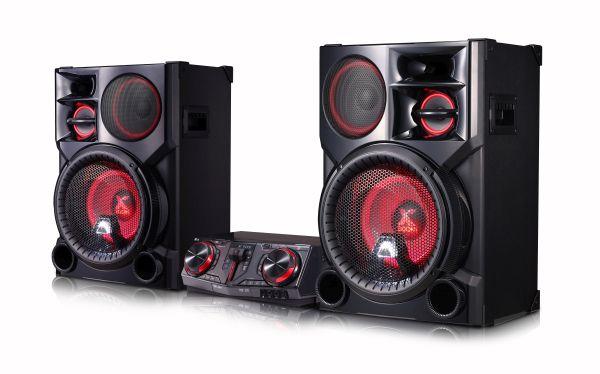 LG CJ98 MINI Systém s DJ efekty, DJ PRO