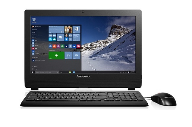 "Lenovo AIO SMB S200Z 19,5"" HD+/J3710/4GB/500 GB/HD Graphics/DVD-RW/WebCam/Win10PRO"