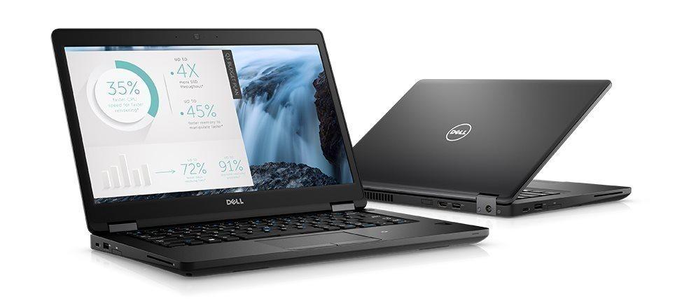 """DELL Latitude 5480/i5-7300U/8GB/256GB/Intel HD 620/14.0"""" FHD/Win 10 Pro 64bit/Černá"""