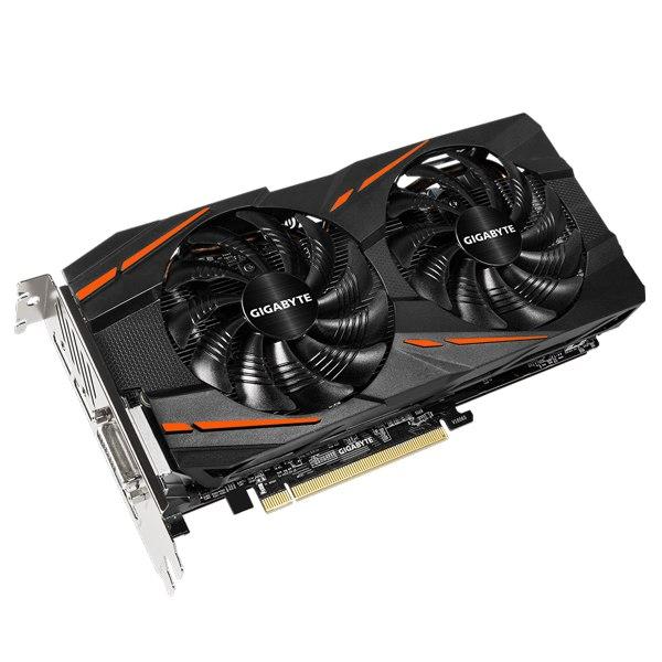 Gigabyte Radeon RX 480 WINDFORCE 4GB, Dual-link DVI-D, HDMI, Display Port *3