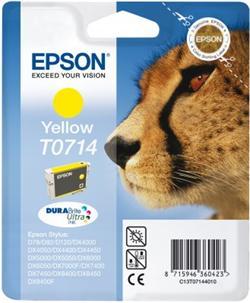 Epson inkoust S D120,DX4450,DX7450,DX8450,DX9400 yellow