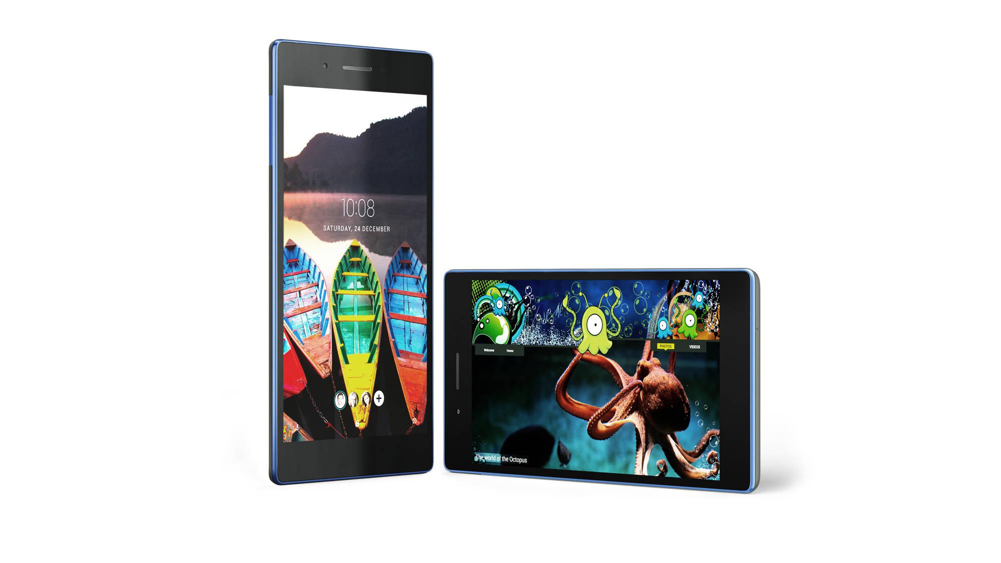 """Lenovo TAB3 7 Essential MediaTek 1,30GHz/1GB/16GB/7"""" IPS/1024x600/WiFi/Android 5.0 černý ZA0R0061CZ"""