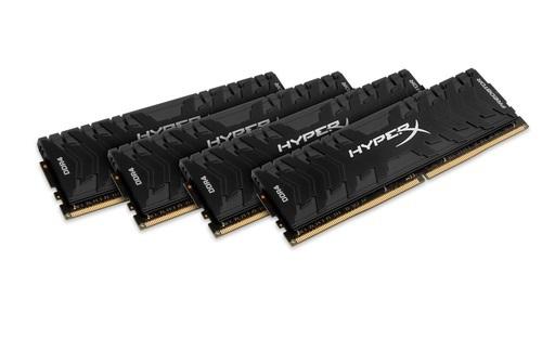 KINGSTON 16GB 3000MHz DDR4 CL15 DIMM (Kit of 4) XMP HyperX Predator
