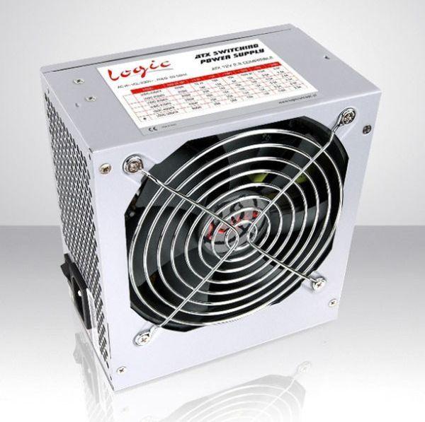 LOGIC Zdroj ATX 500W 120mm ventilátor