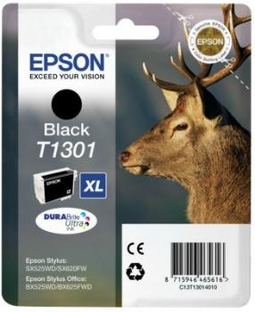 Inkoust Epson T1301 black | Stylus SX525WD/SX620FW/BX525WD/BX625FWD/BX925FWD