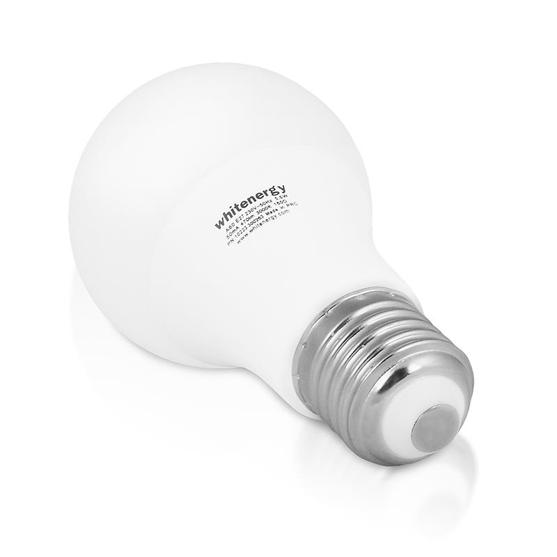 Whitenergy LED žárovka   E27   6 SMD2835   5.5W   230V   teplá bílá   A60
