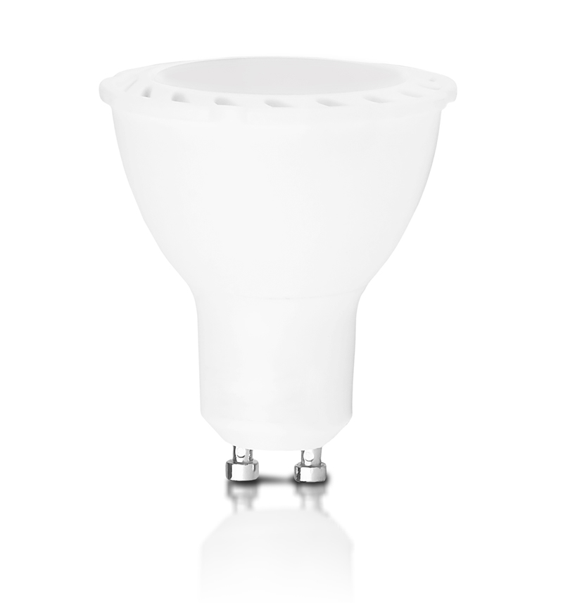 Whitenergy LED žárovka | GU10 | 6 SMD 2835 | 5W | 230V | mléko | MR16