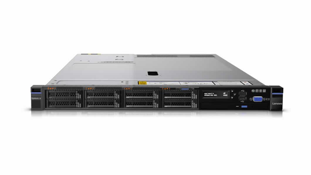 """System x TS x3550M5 Xeon 10C E5-2630v4 85W 2.2GHz/2133MHz, 1x16GB, 2x 300GB 2,5"""" (8), M5210 (2GB f), FIO Entry, 2x 750W"""