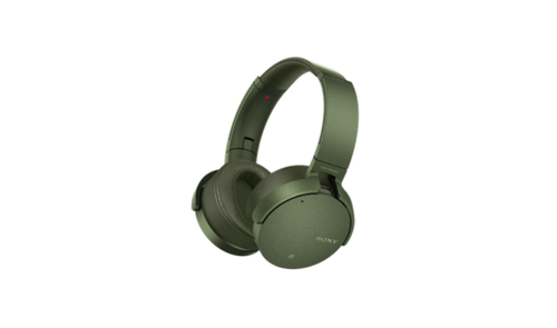 SONY MDR-XB950N1 Sluchátka EXTRA BASS & DJ type - headband - Green