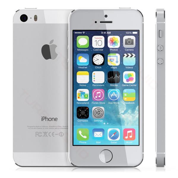Apple iPhone 5s 64GB Silver EU HQ Refurbished