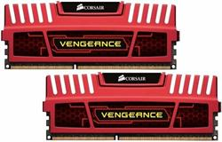 Corsair DDR3 8GB Vengeance DIMM 1600MHz CL9 červená