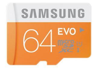 Samsung paměťová karta micro SDXC 64GB Class 10 UHS-I Evo (rychlost až 48MB/s)