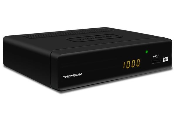 THOMSON DVB-T přijímač THT 504+/ Full HD/ EPG/ HDMI/ USB/ SCART/ černý