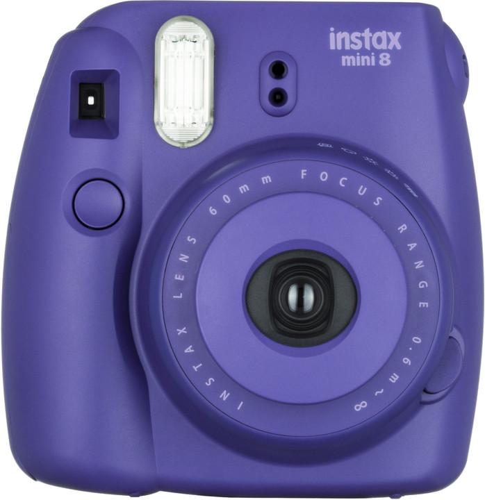 Fotoaparát Fujifilm Instax Mini 8 grape (fialova)
