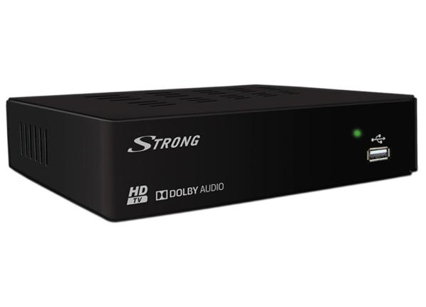 STRONG DVB-T přijímač SRT 8114/ Full HD/ EPG/ USB/ HDMI/ SCART/ černý