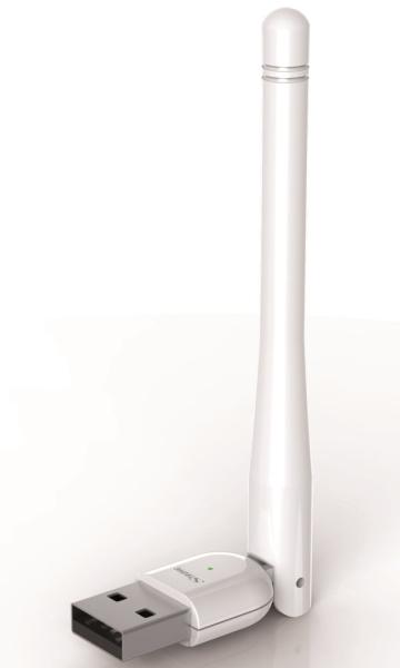 STRONG USB bezdrátový adaptér EA 600/ Wi-Fi standard 802.11ac/ 600 Mbit/s/ 2,4GHz a 5GHz/ včetně antény/ bílý
