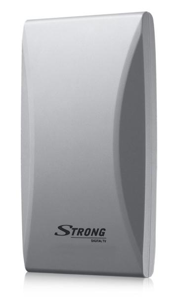 STRONG digitální DVB-T/T2 anténa/ LTE filtr/ venkovní/ zisk 20 dB za VHF/16 dB za UHF/ bílá