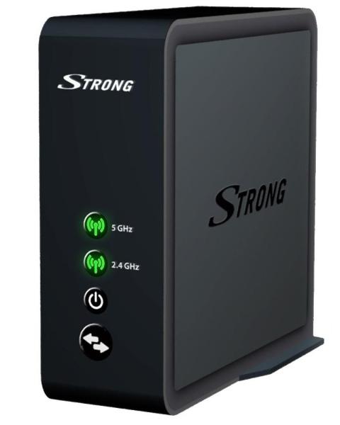 STRONG Wi-Fi MESH 1600/ 802.11ac/n/b/g/a/ 1600 Mbit/s/ 2,4GHz a 5GHz/ 2x LAN/ 1x USB/ 1x 3,5 jack/ černý