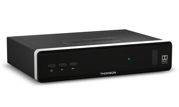 THOMSON DVB-S2 přijímač THS 815/ Full HD/ Skylink ready/ čtečka karet/ EPG/ IR/ USB/ HDMI/ LAN/ SCART/ černý