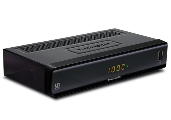 THOMSON DVB-C přijímač THC 300/ Full HD/ EPG/ HDMI/ USB/ SCART/ černý