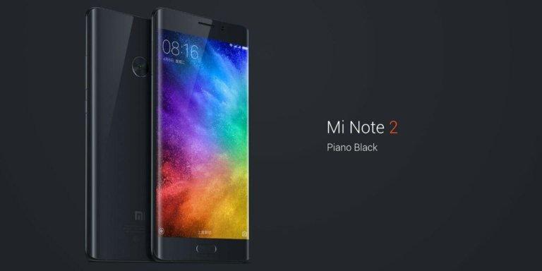 Xiaomi MiNote 2 CZ LTE Black/ 5,7´´ 1920x1080/2,32GHz QC/6GB/128GB/2xSIM/FP/23MPx/4070mAh