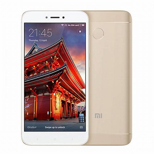 Xiaomi Redmi 4X CZ LTE Gold/ 5´´ HD 1280x720/1,4GHz OC/3GB/32GB/SD/2xSIM/13MPx/4100mAh