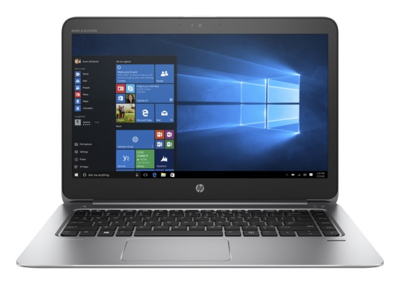 "HP EliteBook Folio 1040 G3 i5-6200U/8GB/256GB/14"" FHD/backlit keyb,NFC,lt4120, RJ45-VGA Adapt/Win 10 Pro + Win 7 Pro"